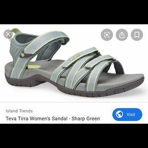 Teva Tirra women sandals sharp green